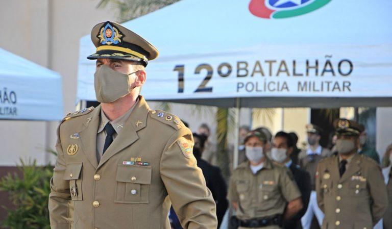 12º Batalhão da PM de Balneário Camboriú tem novo comandante